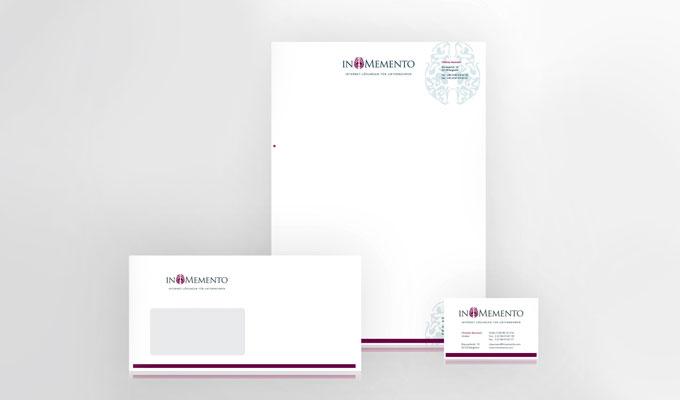InMemento Visitenkarten und Briefpapier