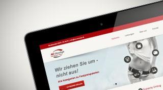 Vorschaubild Website AK-Umzüge