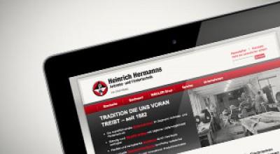Vorschaubild Webdesign Hermanns Bonn