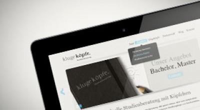 Vorschaubild Website KlugeKoepfe